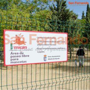 Cartel informativo Personalizado para parques de Ayuntamiento