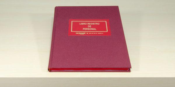Libro registro personal