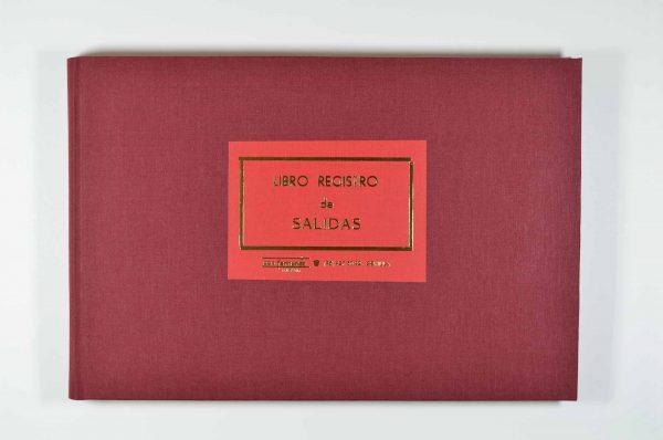 Libro Registro de Salidas - Encuadernación libros para Ayuntamientos