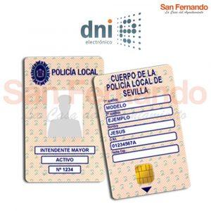 carnet tarjeta Policía Local atestados de forma telemática