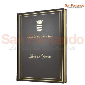 Libro firmas de personalidades
