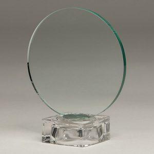 trofeo de cristal grabación laser CO2 o color personalizado