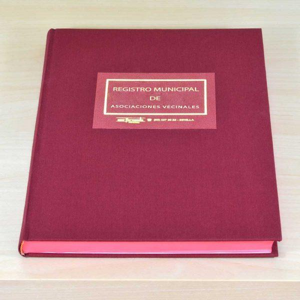 Libro Registro Municipal de Asociaciones Vecinales