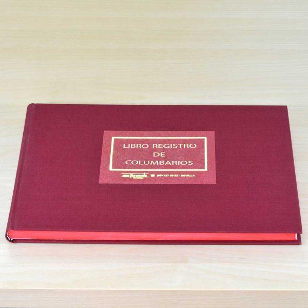 Libro registro de columbarios