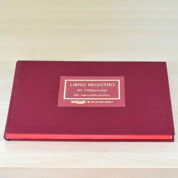 Libro Registro de Diligencias de Identificación