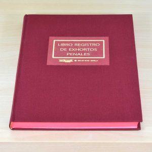 Libro Registro Exhortos Penales