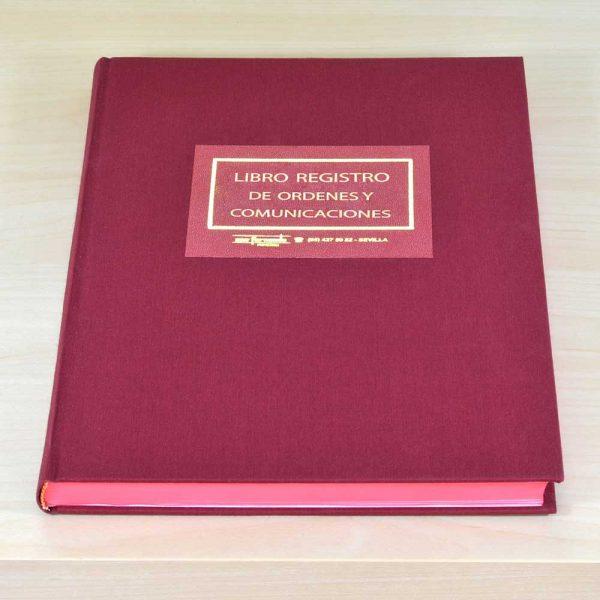 Libro Registro de Órdenes y Comunicaciones