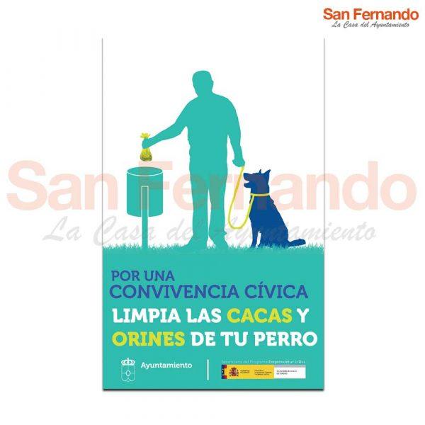 Cartel informativo Personalizado perros Ayuntamiento