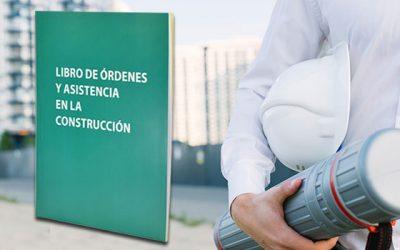 Libro de Órdenes y Asistencias en obras de construcción