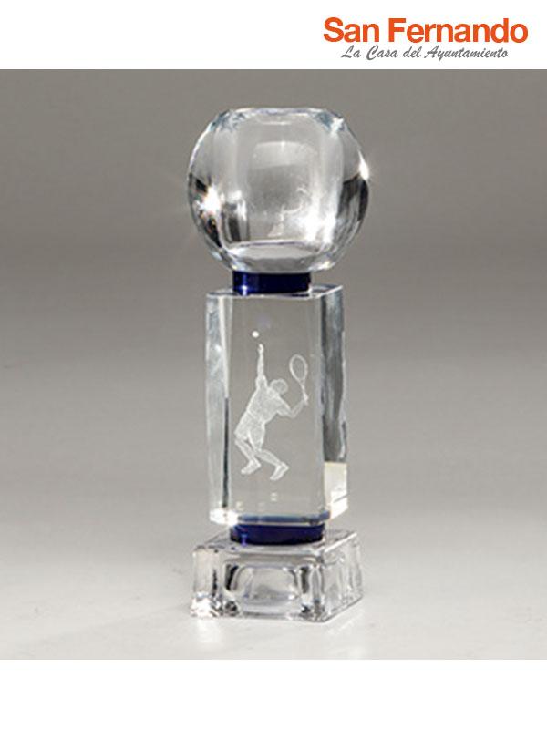 Trofeo cristal 2D 3D